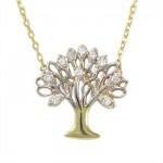 Altın Hayat Ağacı Kolye